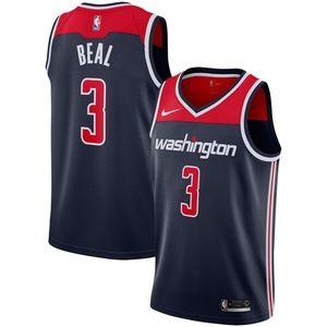 Washington Wizards Bradley Beal Navy Jersey